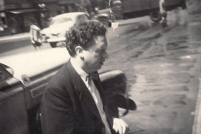 Dylan Thomas in New York, 1953
